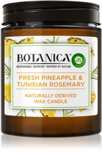 Air Wick Botanica Fresh Pineapple & Tunisian Rosemary bougie parfumée