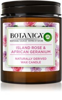 Air Wick Botanica Island Rose & African Geranium bougie parfumée arôme rose