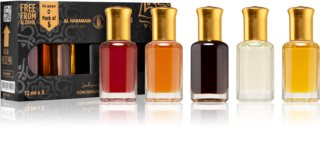 Al Haramain Concentrated Perfume Oils Oriental darilni set II. uniseks