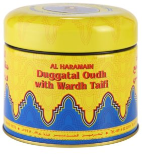 Al Haramain Duggatal Oudh with Wardh Taifi incenso