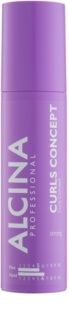 Alcina Strong gel per styling per fissare i capelli mossi naturali