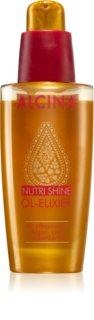 Alcina Nutri Shine olejový elixír pre lesklé a uhladené vlasy