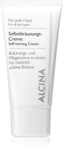 Alcina For All Skin Types crema autobronceadora facial