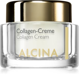Alcina Effective Care creme facial com colagénio