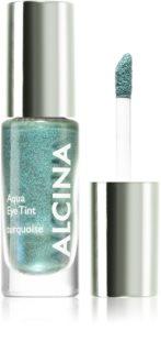 Alcina Summer Breeze Aqua Eye Tint дълготрайни сенки за очи с метален ефект