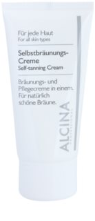 Alcina For All Skin Types samoporjavitvena krema za obraz