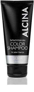 Alcina Color Silver șampon pentru nuante inchise de blond