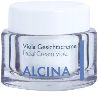 Alcina For Dry Skin Viola κρέμα για να καταπραύνει την επιδερμίδα πρόσωπου
