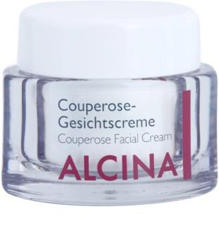Alcina For Sensitive Skin creme restaurador para pequenos derrames no rosto