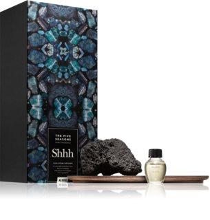 Alessi The Five Seasons Shhh aroma diffuser with filling (Lava Stone)
