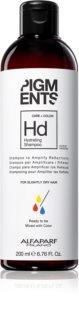 Alfaparf Milano Pigments hydratačný šampón pre suché vlasy
