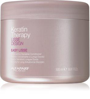 Alfaparf Milano Lisse Design Keratin Therapy balsamo lisciante per lisciare i capelli