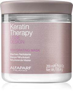 Alfaparf Milano Lisse Design Keratin Therapy Rehydrating Mask for All Hair Types