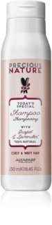 Alfaparf Milano Precious Nature Grape & Lavender Shampoo for Curly and Wavy Hair