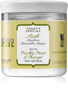 Alfaparf Milano Precious Nature Prickly Pear & Orange Mjukgörande mask För att behandla krull
