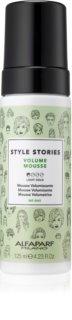 Alfaparf Milano Style Stories Volume Mousse tömegnövelő hajhab