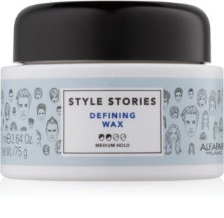 Alfaparf Milano Style Stories The Range Paste Texturising Wax - Paste Medium Control