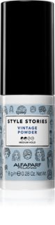 Alfaparf Milano Style Stories Vintage Powder Hair Powder for Volume from Roots