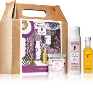 Alfaparf Milano Precious Nature Grape & Lavender kit di cosmetici (per capelli mossi e ricci)