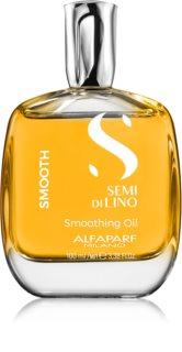 Alfaparf Milano Semi di Lino Smooth uhladzujúci olej pre nepoddajné a krepovité vlasy