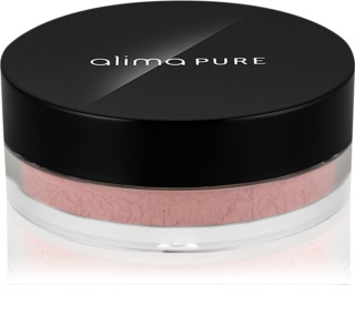 Alima Pure Face blush mineral em pó solto com efeito matificante