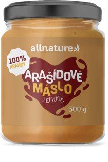Allnature Arašídové máslo jemné ořechová pomazánka