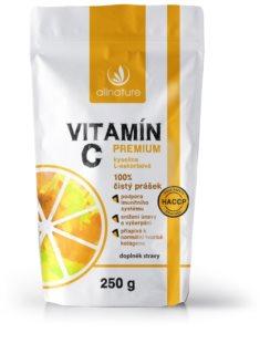 Allnature Vitamín C prášek prémiový vitamin C pro podporu obranyschopnosti organismu