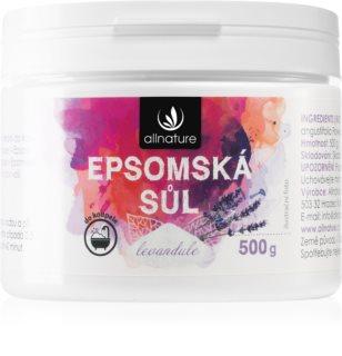Allnature Epsomská sůl Lavender sůl do koupele