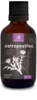 Allnature Ostropestřec Bylinné kapky doplněk stravy pro detoxikaci organismu a obnovu jaterní tkáně