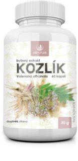 Allnature Kozlík lékařský bylinný extrakt doplněk stravy  pro podporu fyzického a duševního zdraví
