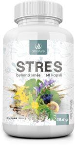 Allnature Stres Bylinný extrakt doplněk stravy pro snížení hladiny stresu a zklidnění organismu