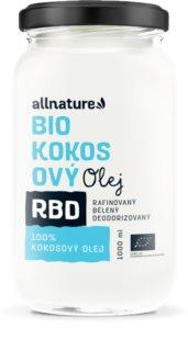 Allnature RBD Kokosový olej - bez vůně BIO
