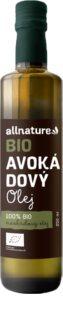 Allnature Avokádový olej BIO stolní olej