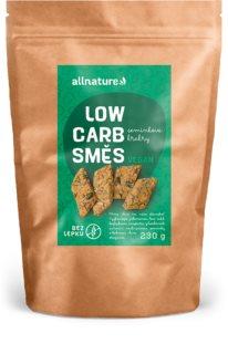 Allnature Low carb směs na semínkové krekry sypká směs na přípravu krekrů