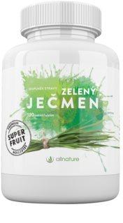 Allnature Zelený ječmen 120 tbl. potravinový doplněk pro detoxikaci organismu