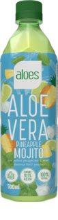 Aloes Aloe Vera  mojito/ananas nápoj s aloe vera