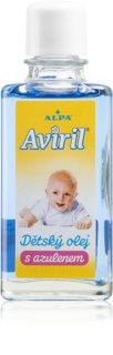 Alpa Aviril Baby oil with azulene jemný dětský olej pro citlivou pokožku