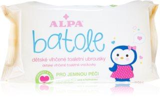 Alpa Batole vhlčené ubrousky bez alkoholu pro citlivou pokožku