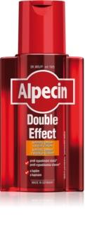 Alpecin Double Effect Koffeinschampo för män Mot håravfall och mjäll