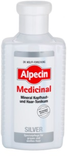 Alpecin Medicinal Silver Hair Tonic for Yellow Tones Neutralization