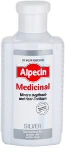 Alpecin Medicinal Silver lasni tonik za nevtralizacijo rumenih odtenkov