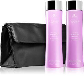 Alterna Caviar Anti-Aging Smoothing Anti-Frizz Kosmetik-Set  (für unnachgiebige und strapaziertes Haar)