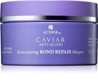 Alterna Caviar Anti-Aging Restructuring Bond Repair Deeply Moisturising Face Mask For Damaged Hair