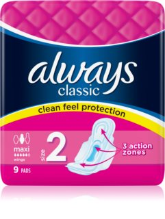 Always Classic Maxi sanitary towels