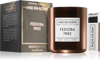 Ambientair Mise-en-Scéne Fedora bougie parfumée