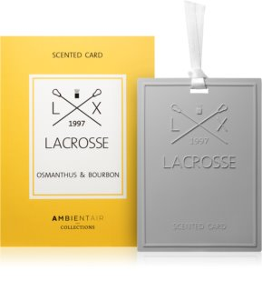 Ambientair Lacrosse Osmanthus & Bourbon Wardrobe Air Freshener