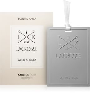 Ambientair Lacrosse Wood & Tonka vůně do prádla
