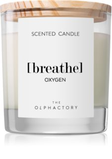 Ambientair Olphactory Oxygen scented candle (Breathe)