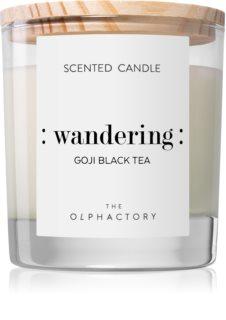 Ambientair Olphactory Goji Black Tea ароматна свещ  (Wandering)