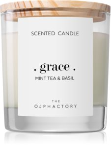 Ambientair Olphactory Mint Tea & Basil candela profumata (Grace)
